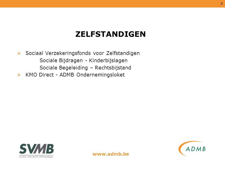 15 ADMB SELECT  HRM voor alle bedrijven, KMO s, social-profit en overheid.