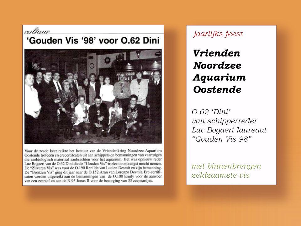 echtpaar Luc Bogaert & Christa Vandromme nemen ontslag uit het bestuur Vlaamse Vissersbond