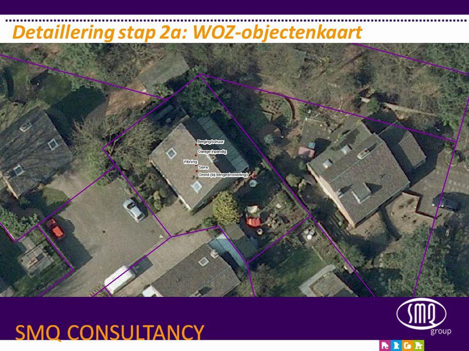 Detaillering stap 2a: WOZ-objectenkaart