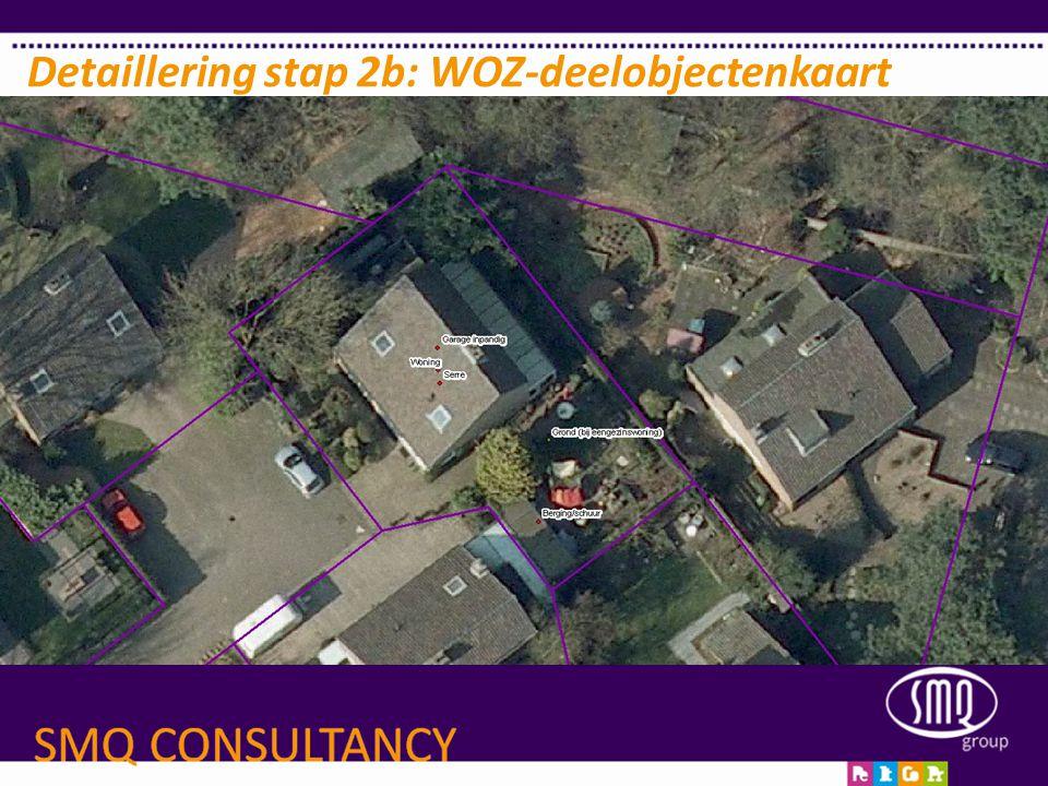 Detaillering stap 2b: WOZ-deelobjectenkaart