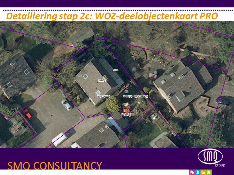 Detaillering stap 2c: WOZ-deelobjectenkaart PRO