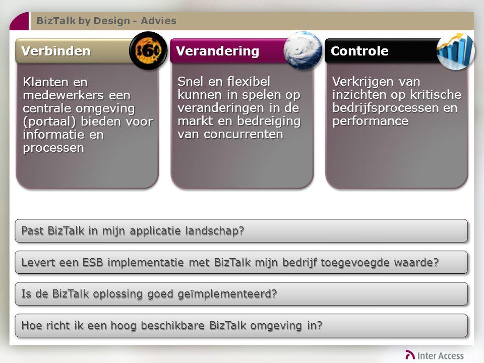 BizTalk by Design - Advies Past BizTalk in mijn applicatie landschap.