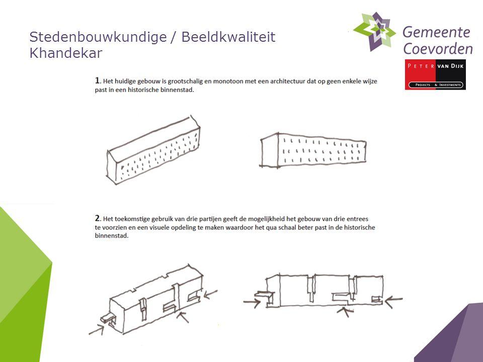 Stedenbouwkundige / Beeldkwaliteit Khandekar