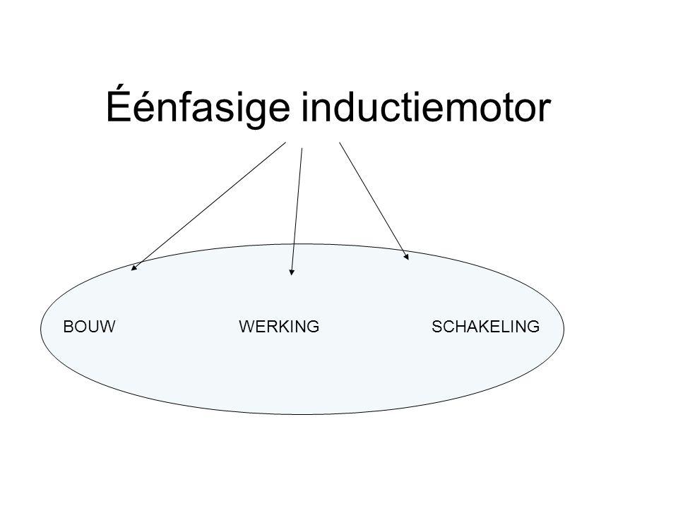 Éénfasige inductiemotor BOUWSCHAKELINGWERKING
