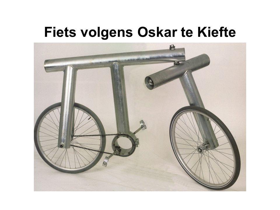 Fiets volgens Oskar te Kiefte