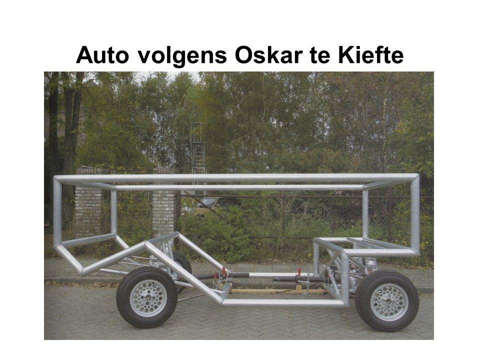 Auto volgens Oskar te Kiefte