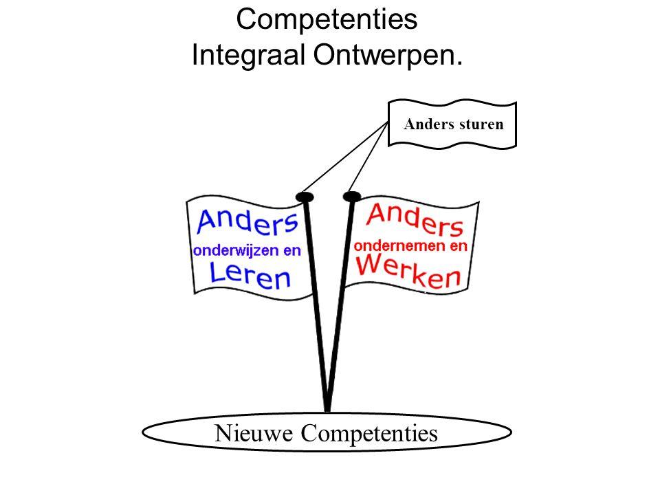 Nieuwe Competenties Anders sturen Competenties Integraal Ontwerpen.