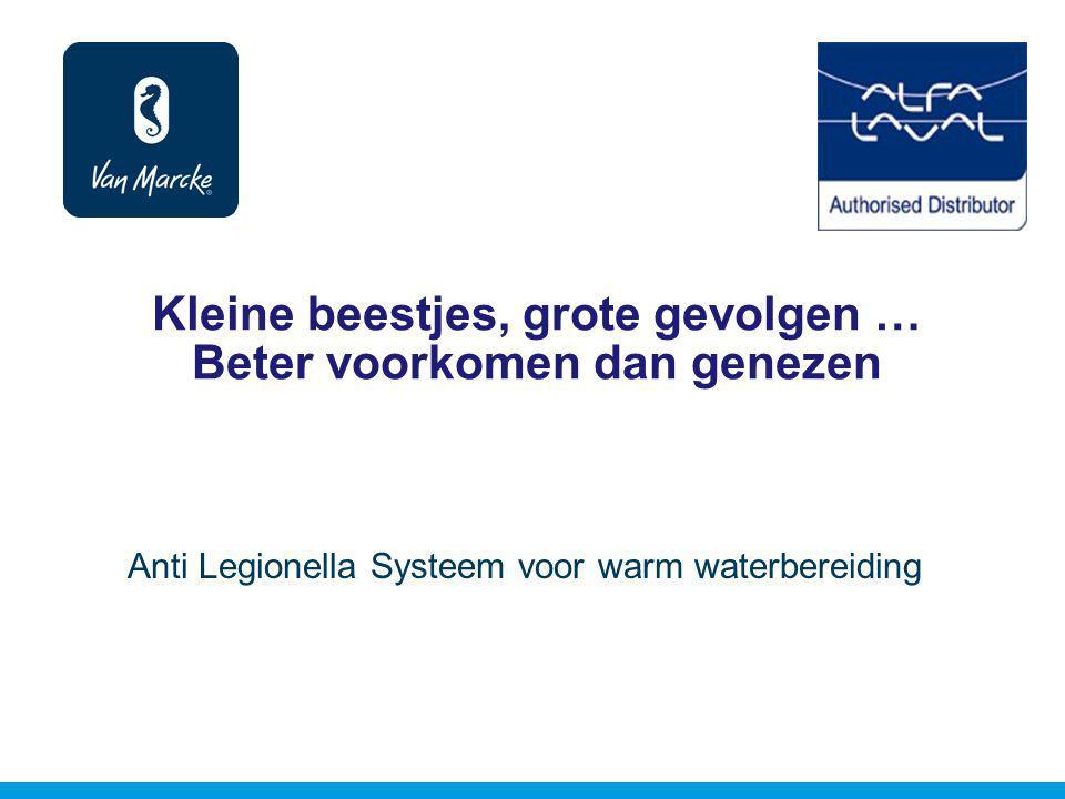 Kleine beestjes, grote gevolgen … Beter voorkomen dan genezen Anti Legionella Systeem voor warm waterbereiding