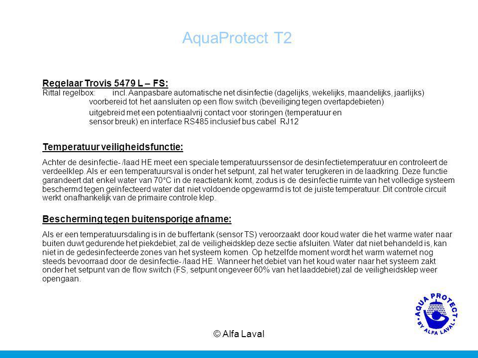 © Alfa Laval14 AquaProtect T2 Regelaar Trovis 5479 L – FS: Rittal regelbox:incl.