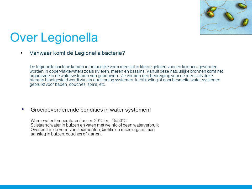 Over Legionella •Vanwaar komt de Legionella bacterie.
