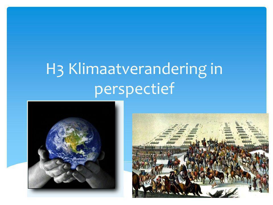  Welke gevolgen kan klimaatverandering in de 21e eeuw hebben voor de mens? Oriëntatie