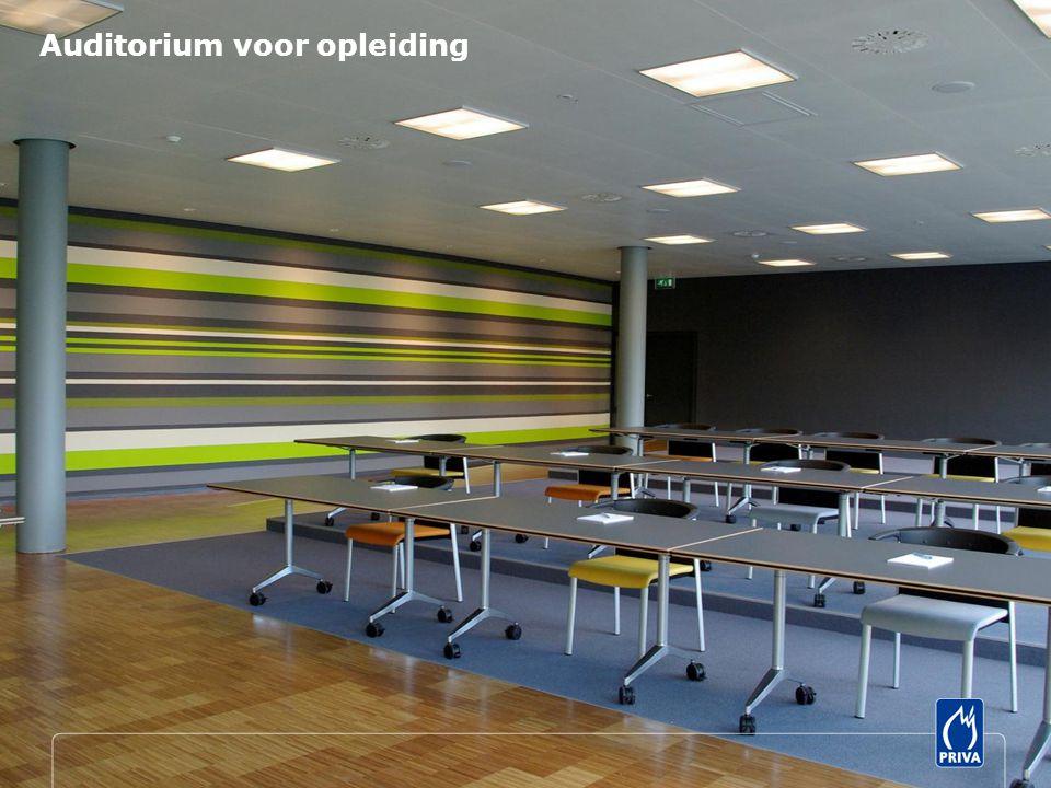 Auditorium voor opleiding