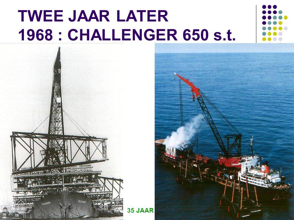35 JAAR IRO 4 TWEE JAAR LATER 1968 : CHALLENGER 650 s.t.