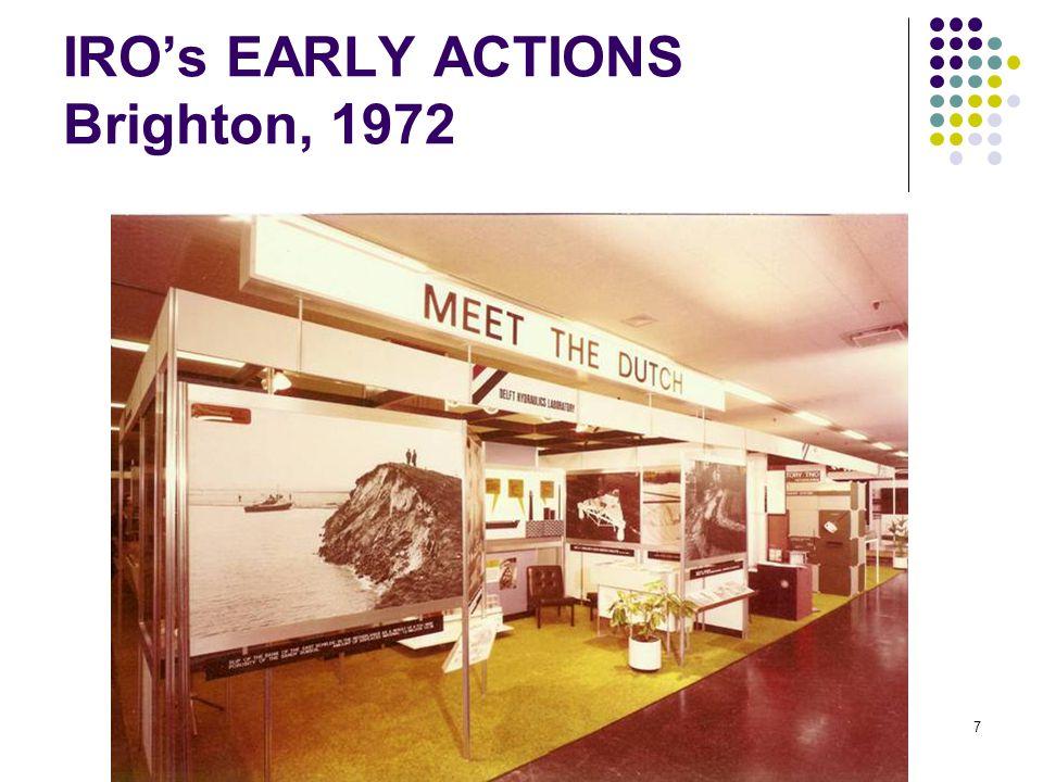 35 JAAR IRO 7 IRO's EARLY ACTIONS Brighton, 1972