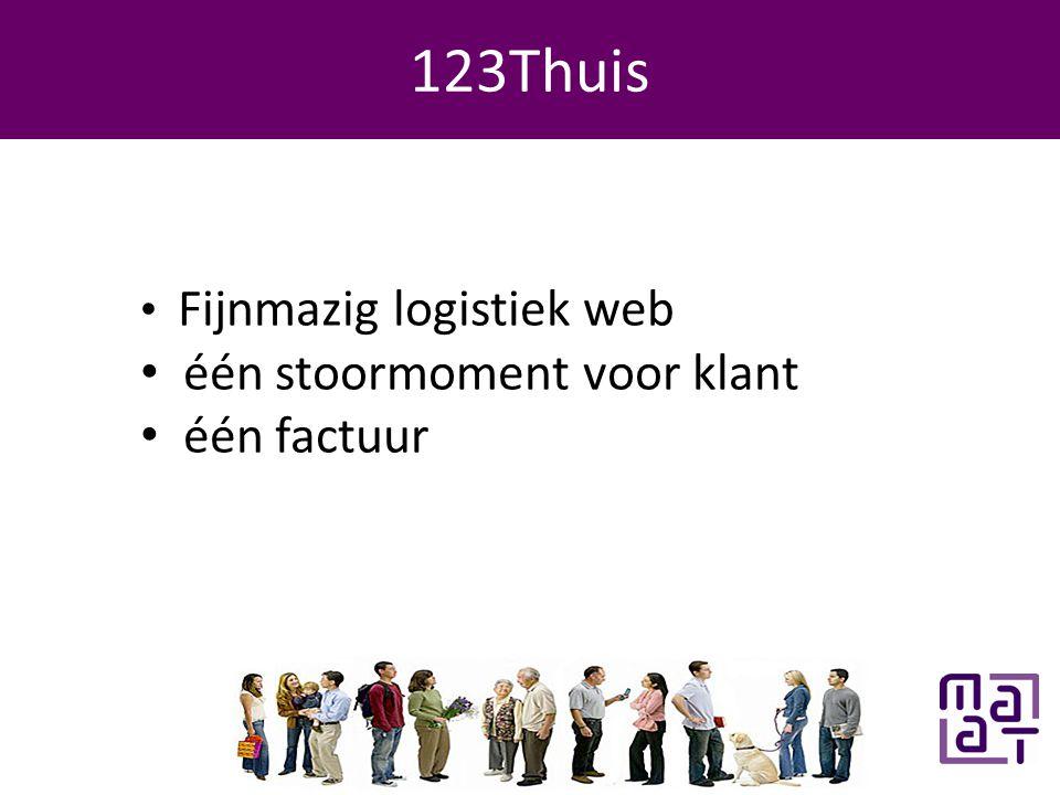 Programma 123Thuis • Fijnmazig logistiek web • één stoormoment voor klant • één factuur