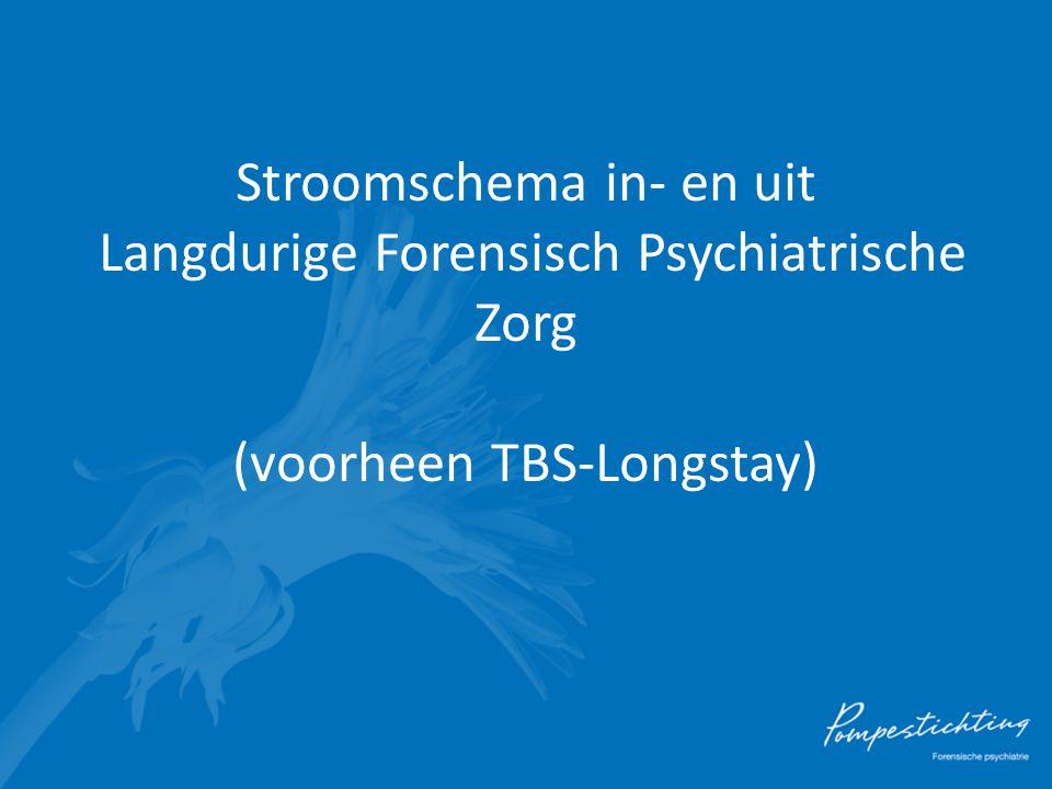 Stroomschema in- en uit Langdurige Forensisch Psychiatrische Zorg (voorheen TBS-Longstay)