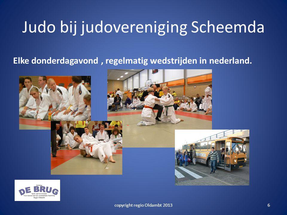 Judo bij judovereniging Scheemda Elke donderdagavond, regelmatig wedstrijden in nederland.