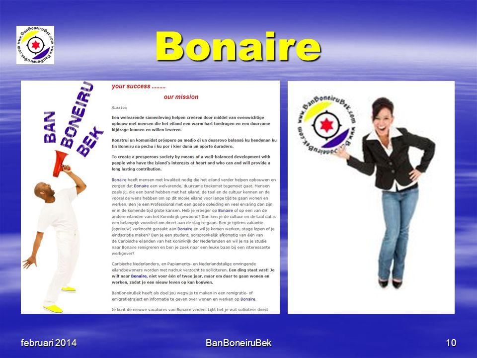 Bonaire februari 2014BanBoneiruBek10