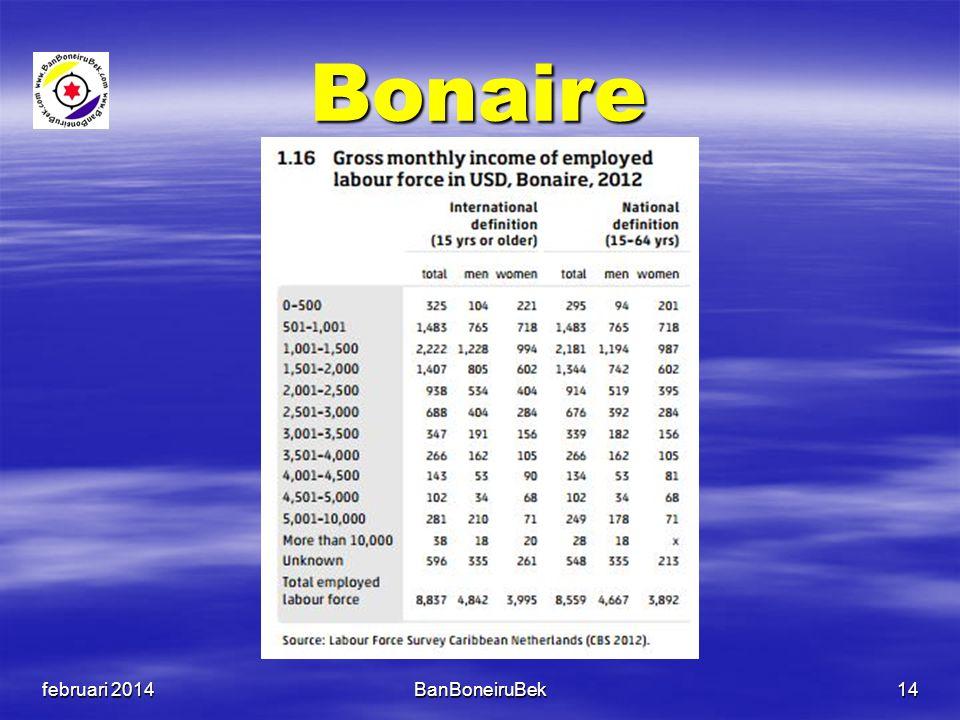 Bonaire februari 2014BanBoneiruBek14