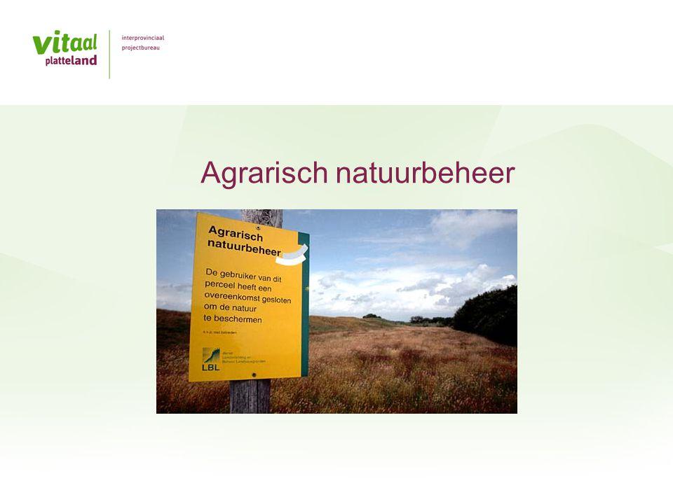 Agrarisch natuurbeheer