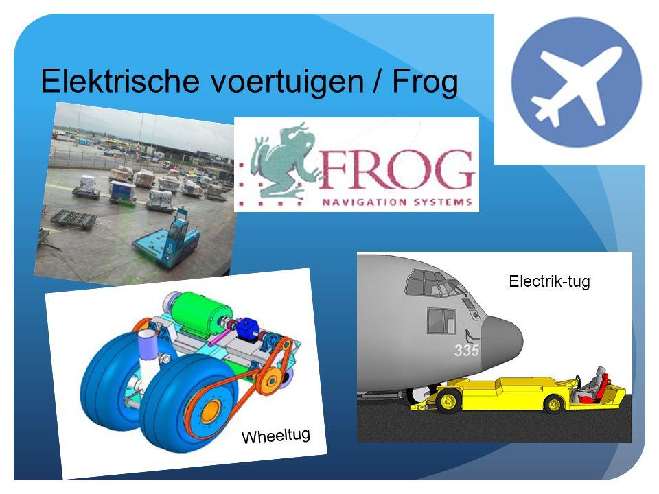 Elektrische voertuigen / Frog Wheeltug Electrik-tug