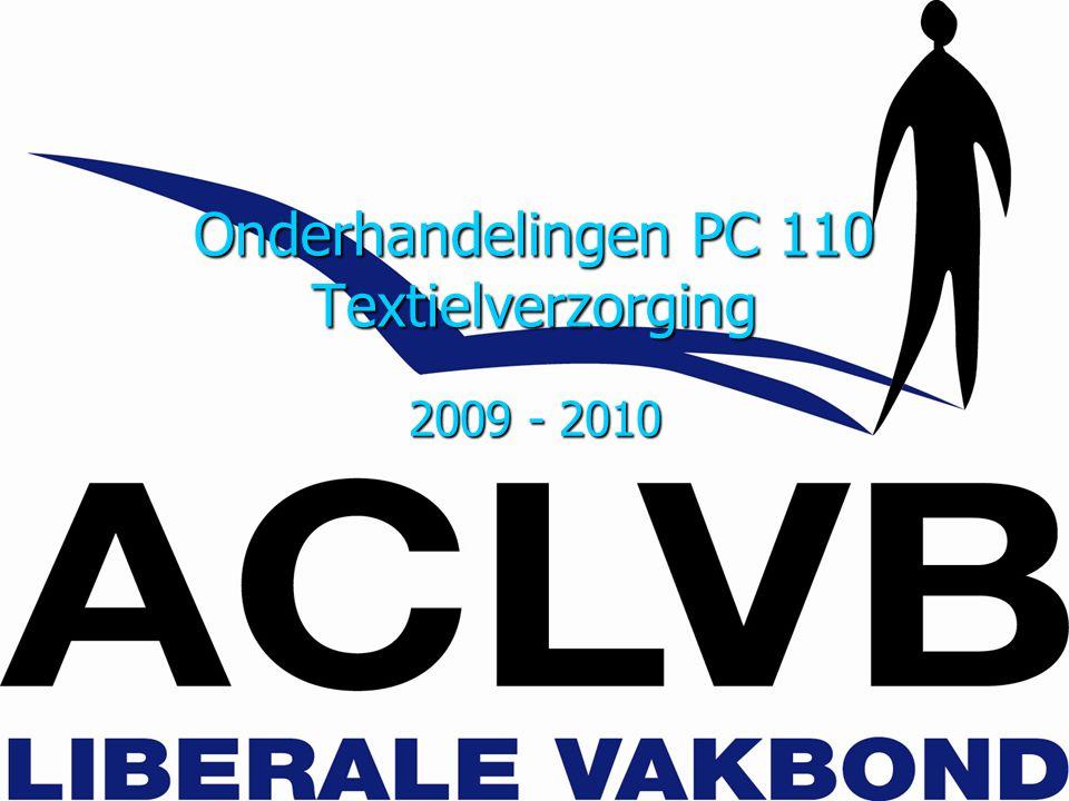 Onderhandelingen PC 110 Textielverzorging 2009 - 2010