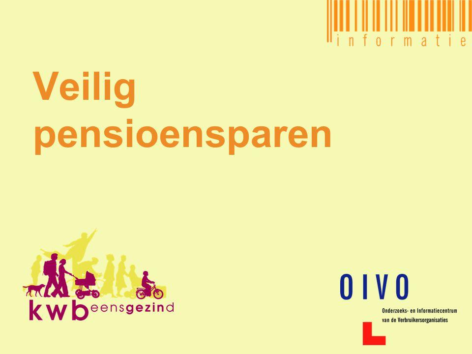 Veilig pensioensparen - 2 Inhoud •Belgisch pensioenstelsel •Eerste pensioenpijler •Tweede pensioenpijler •Derde pensioenpijler •Naar de toekomst toe