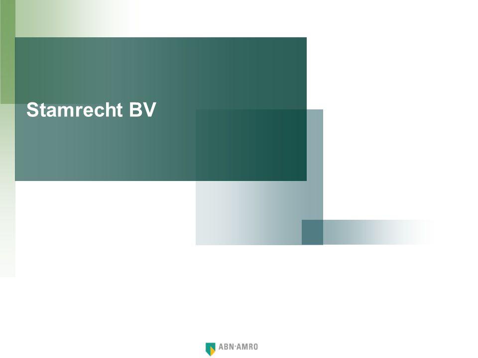 Stamrecht BV