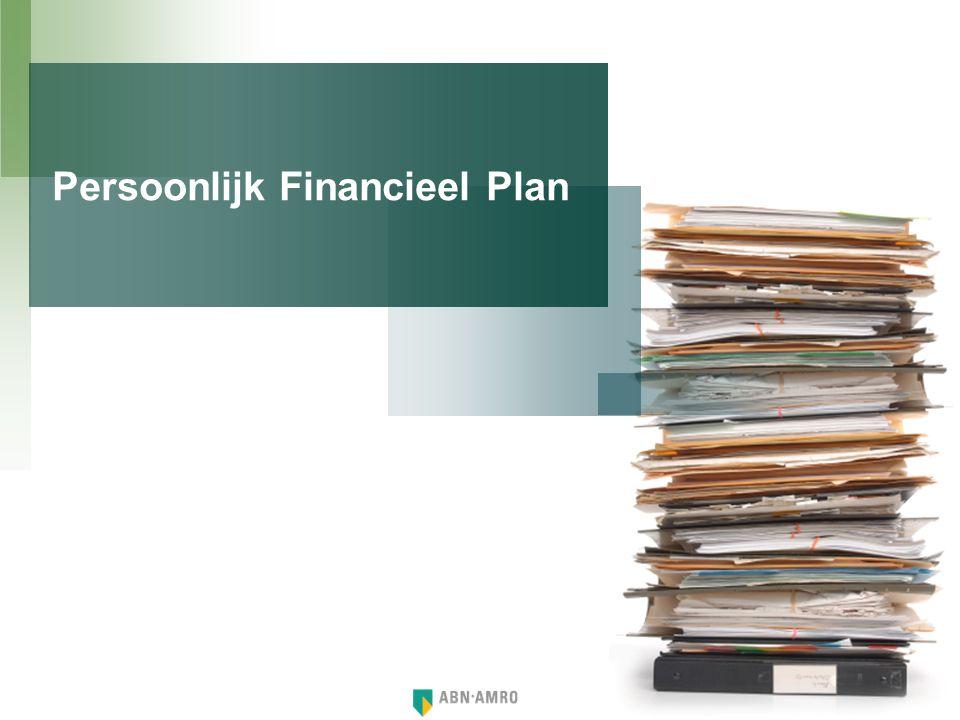 Onderstaande levenslijn geeft een overzicht van belangrijke momenten welke van invloed kunnen zijn op de toekomstige financiële situatie.