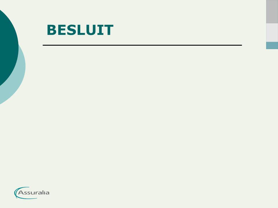 BESLUIT