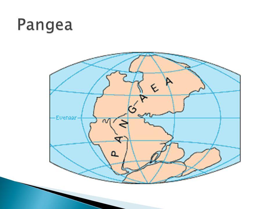  Vanaf pangea veranderde de aarde flink. Zie atlas 193A.