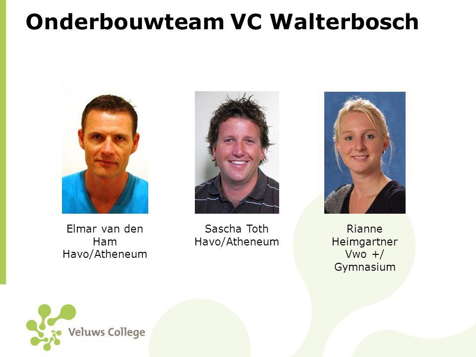 Kenmerken VC Walterbosch • Uitdagend onderwijs • Ruimte voor individuele ontplooiing • Veel aandacht voor leerlingenzorg • Veilige school • Laagdrempelig contact ouders – school • Sfeer
