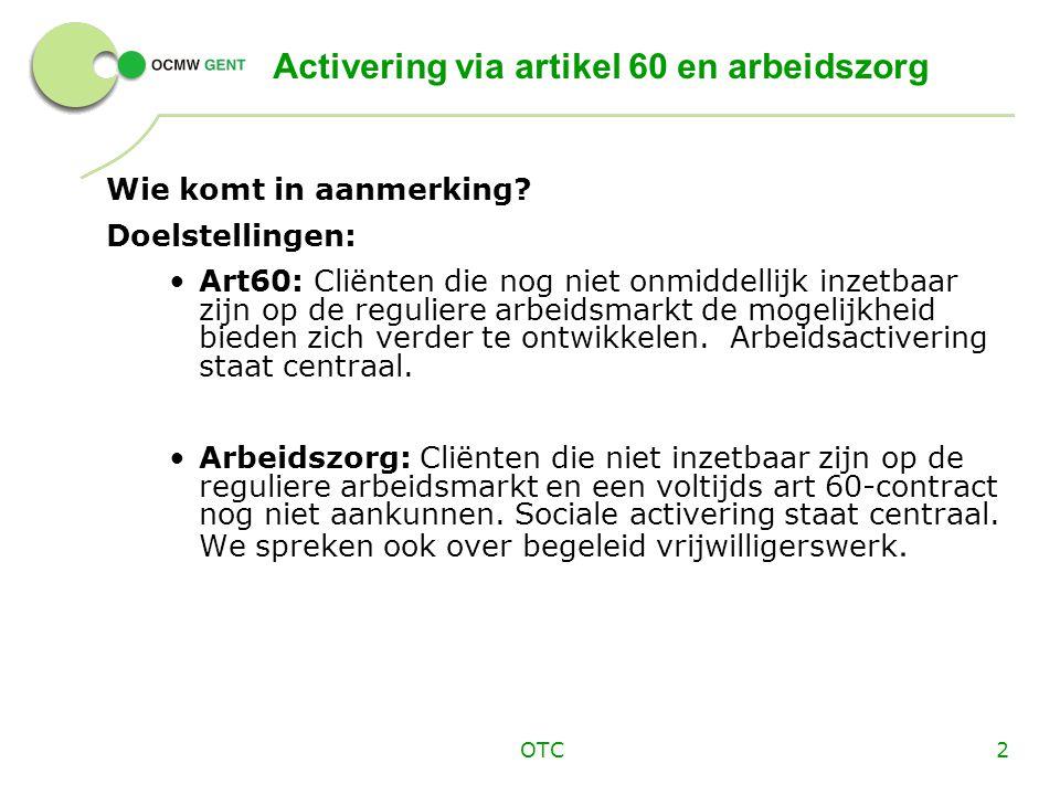 OTC3 Profielbepaling cliënt : hoe .