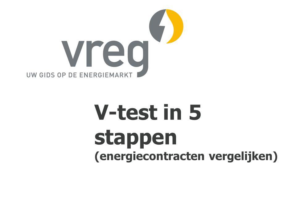V-test in 5 stappen (energiecontracten vergelijken)