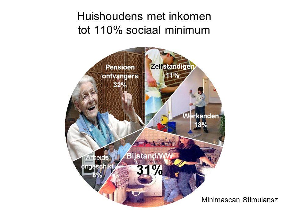 Minimascan Stimulansz Huishoudens met inkomen tot 110% sociaal minimum