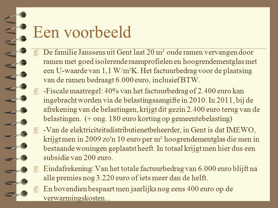 Vlaamse renovatiepremie 4 De Vlaamse renovatiepremie maakt het nog interessanter om oude woningen te renoveren. 4 Inkomensvoorwaarde: 53.350 euro voor