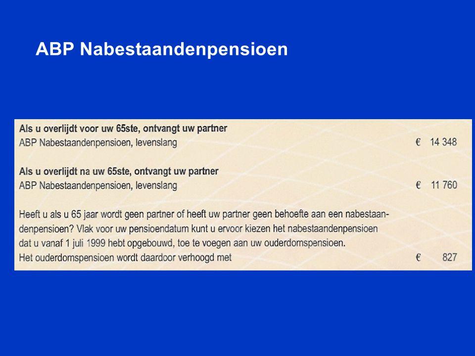 ABP Nabestaandenpensioen