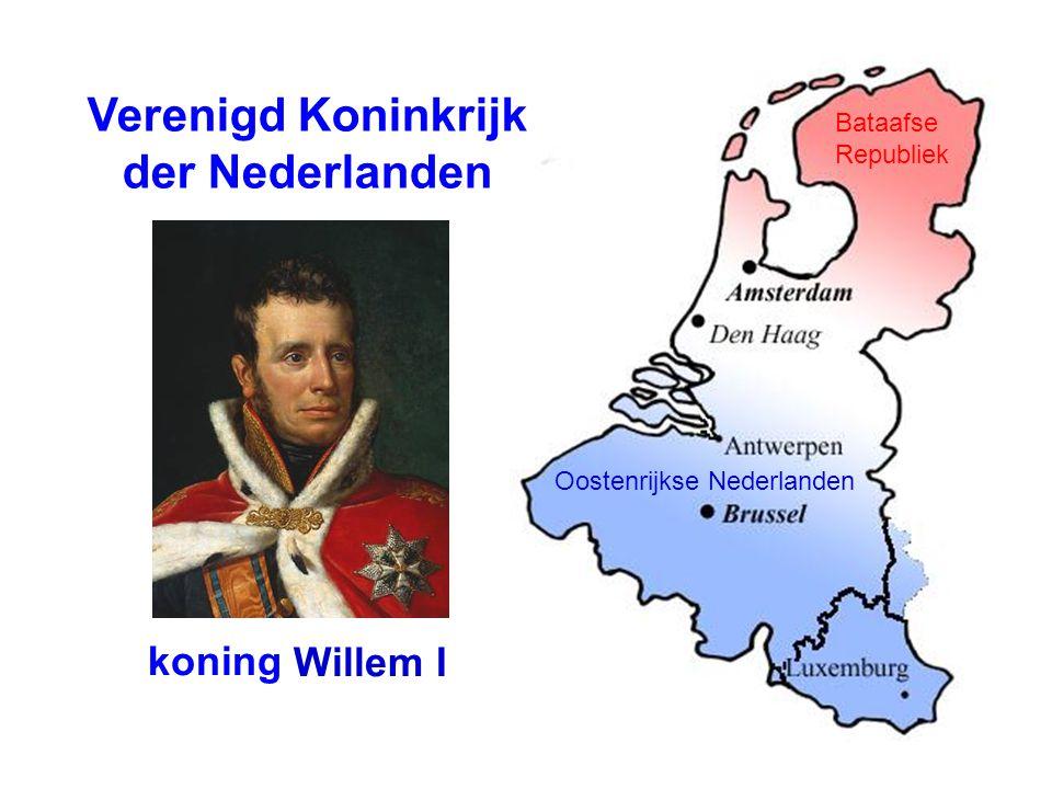 Verenigd Koninkrijk der Nederlanden koning Willem I Bataafse Republiek Oostenrijkse Nederlanden