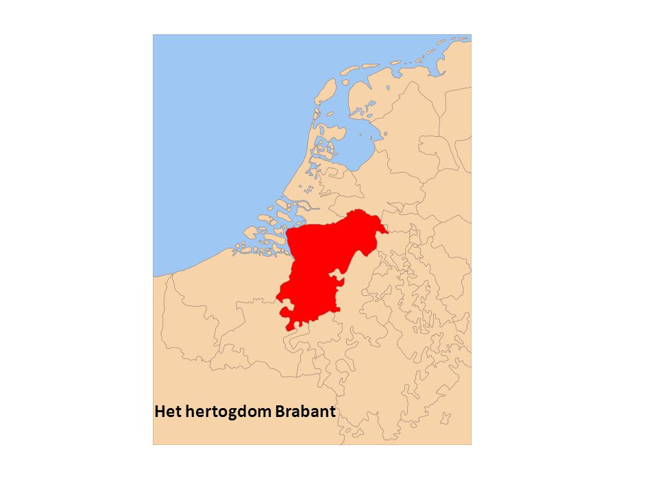Het hertogdom Brabant
