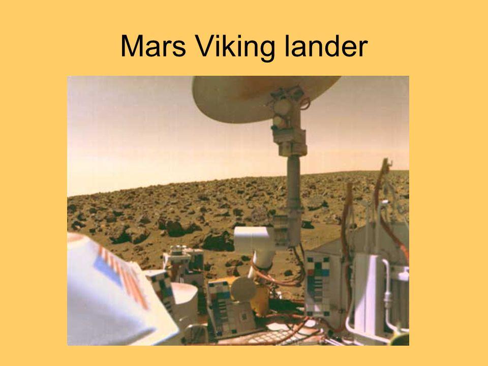 Mars Viking lander