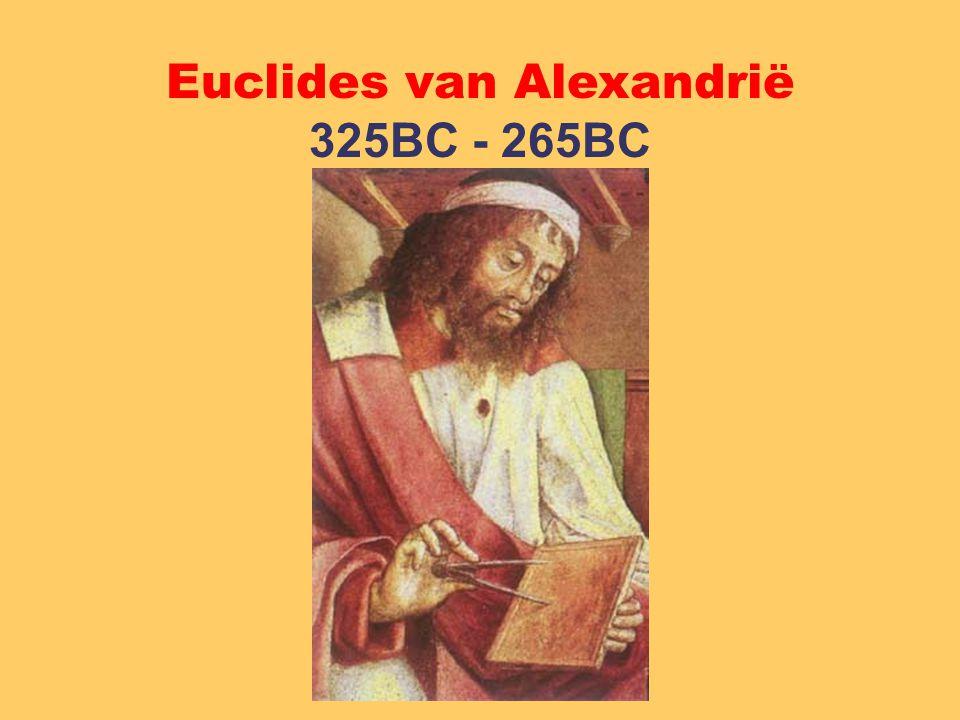 Euclides van Alexandrië 325BC - 265BC