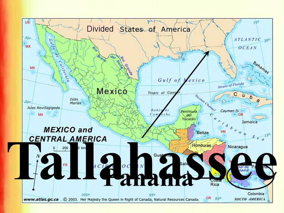 Tallahassee Panama Divided