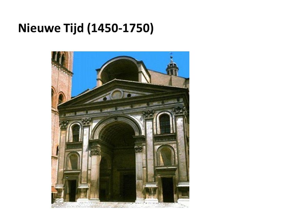 Nieuwe Tijd (1450-1750)