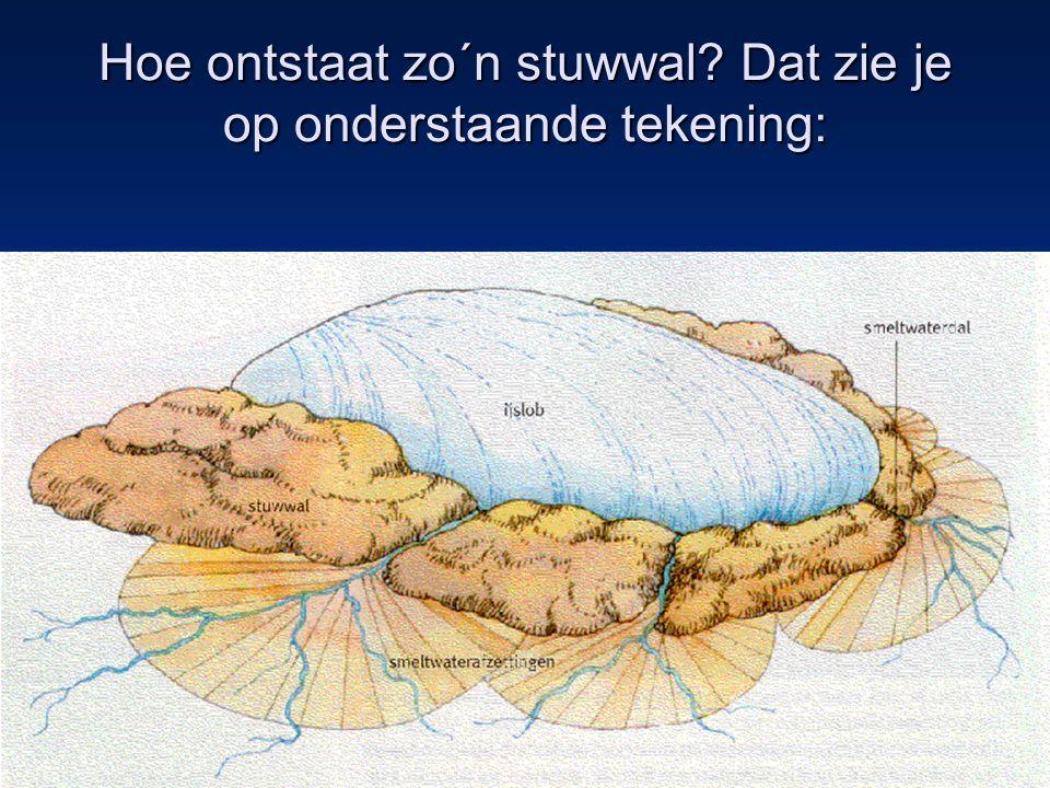 10 •Tijdens de laatste ijstijd, het Weichselien (tot 10.000 jaar geleden), bereikte het landijs Nederland niet meer.