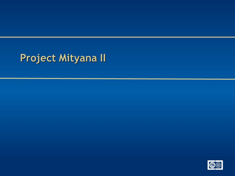 Project Mityana II