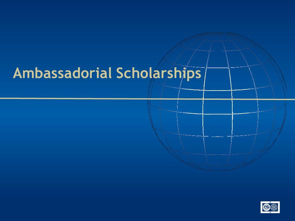 Ambassadorial Scholarships