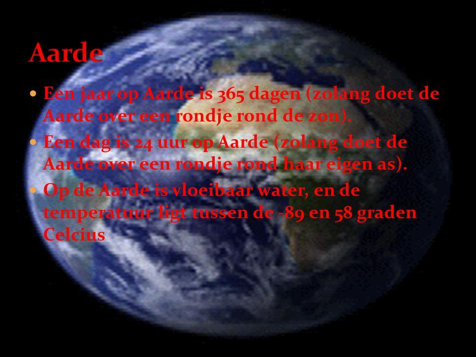  Een jaar op Aarde is 365 dagen (zolang doet de Aarde over een rondje rond de zon).  Een dag is 24 uur op Aarde (zolang doet de Aarde over een rondj