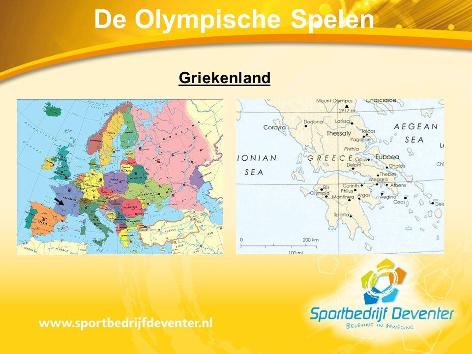De Olympische Spelen Griekenland