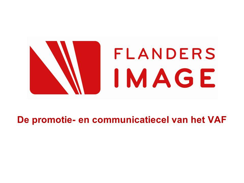 De promotie- en communicatiecel van het VAF