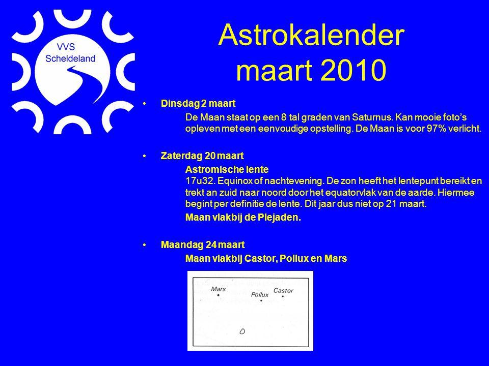 Website Argo Navis & ServoCAT (Door David Erzeel) Rocket Fuel Dump (Door David Erzeel) Waarneem Locaties (Voor alle leden) Waarneem Meteo Sites (Door Peter Henderickx)